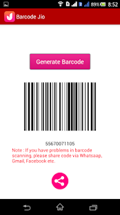 Barcode Jio - náhled