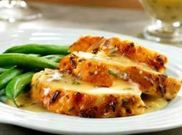 Lemon-herb Roast Chicken With Pan Gravy