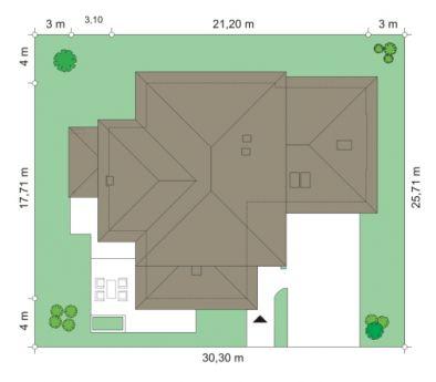 Dom z widokiem - Sytuacja