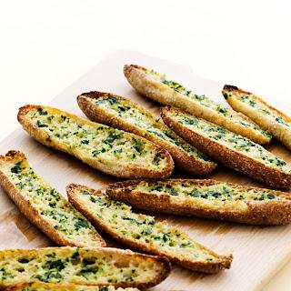 Keto Garlic Bread.