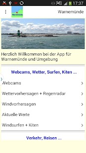 Warnemünde App- screenshot thumbnail