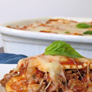 Double Stuffed Ravioli Lasagna.