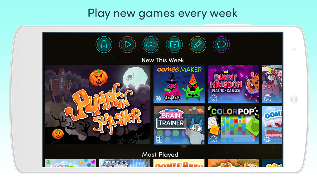 Azoomee: Kids' Games, TV Shows & Family Chat- screenshot