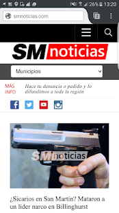 SMnoticias.com- screenshot thumbnail