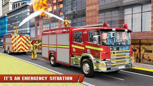 City Firefighter Truck conduite de sauvetage  captures d'u00e9cran 6