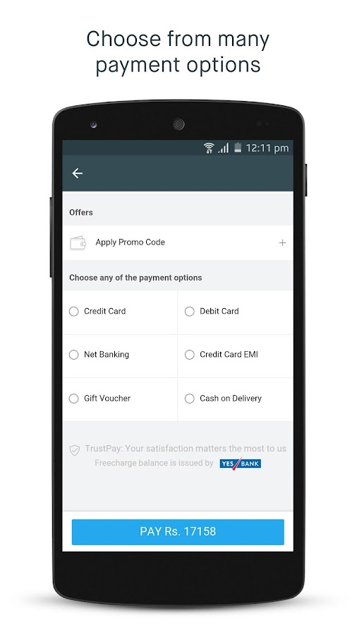 Screenshots of Snapdeal for Android