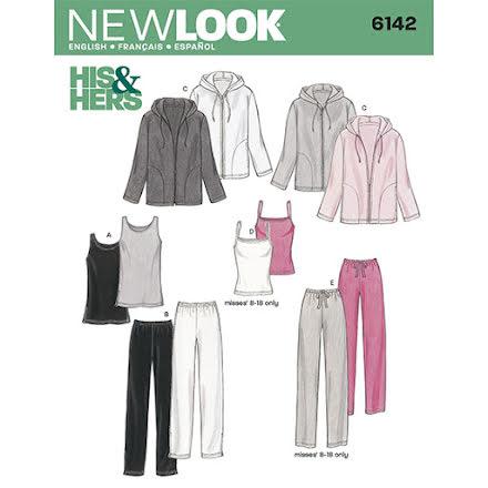 Byxor, Linne och Hoodie, Unisex - New Look 6142