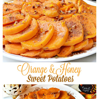 Orange & Honey Sweet Potatoes