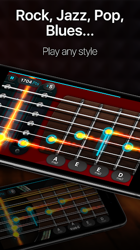 Guitar - play music games, pro tabs and chords! 1.12.00 Mod screenshots 3