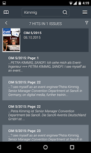 CIM Kiosk- screenshot thumbnail