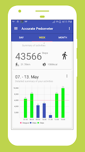 Pedometer For Walking- screenshot thumbnail