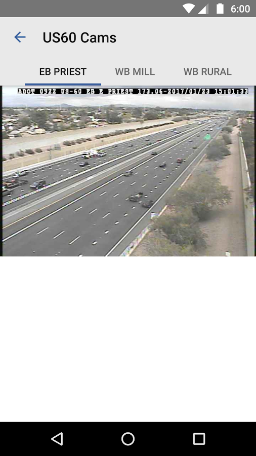 Phoenix us 60 traffic report