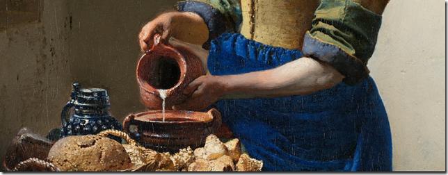 La Lechera, Johannes Vermeer