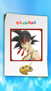 How to draw Dragon Ball Z Characters (DBZ Games) - náhled