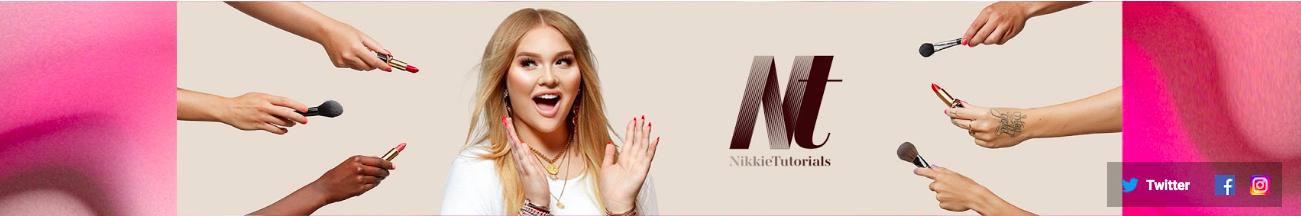 Nikkie Tutorials YouTube banner