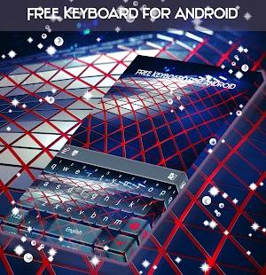 Volná klávesnice pro Android - náhled