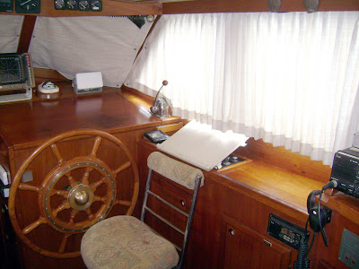 Pilothouse (starboard side, looking forward)