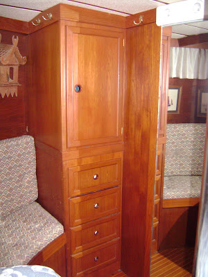 Master Stateroom (port side, looking forward)