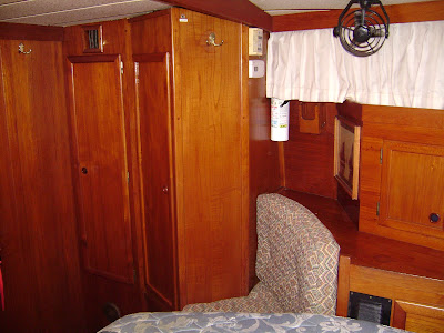 Master Stateroom (starboard side, looking forward)