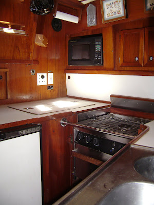 Galley (port side, looking aft)