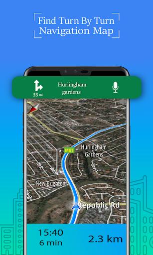 Voice GPS Driving Route : Gps Navigation & Maps screenshot 12