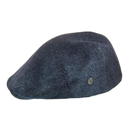Herringbone Ivy Cap, mörkblå