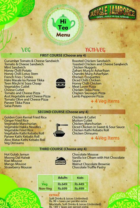 Jungle Jamboree menu 3