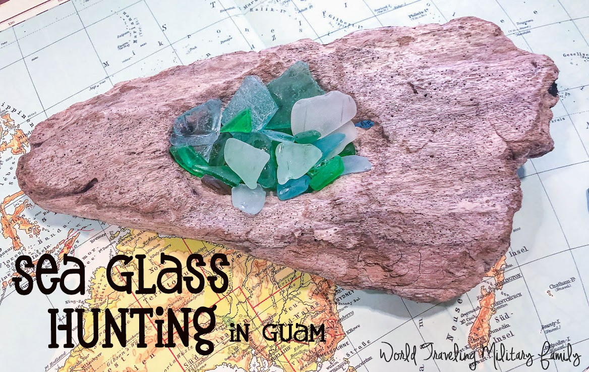 Sea Glass Hunting in Guam