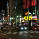 downtown Roppongi in Tokyo, Tokyo, Japan