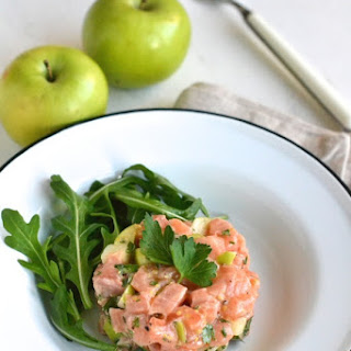 Salmon and Green Apple Tartare