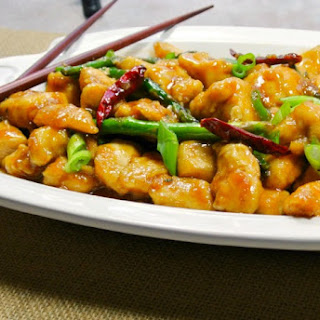 General Tso's Chicken {Low Carb}.