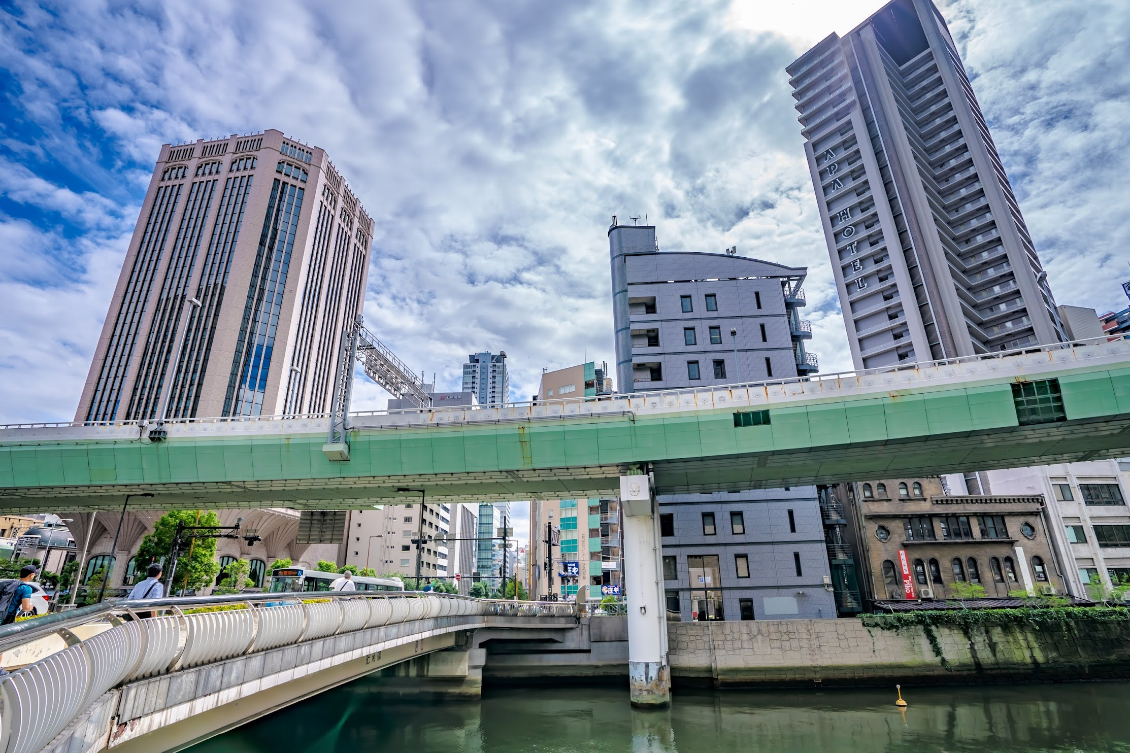 Osaka Higobashi bridge1