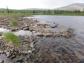 Photo: Второе озеро, камушки.