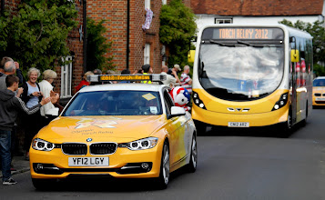 Photo: Torch Relay Convoy
