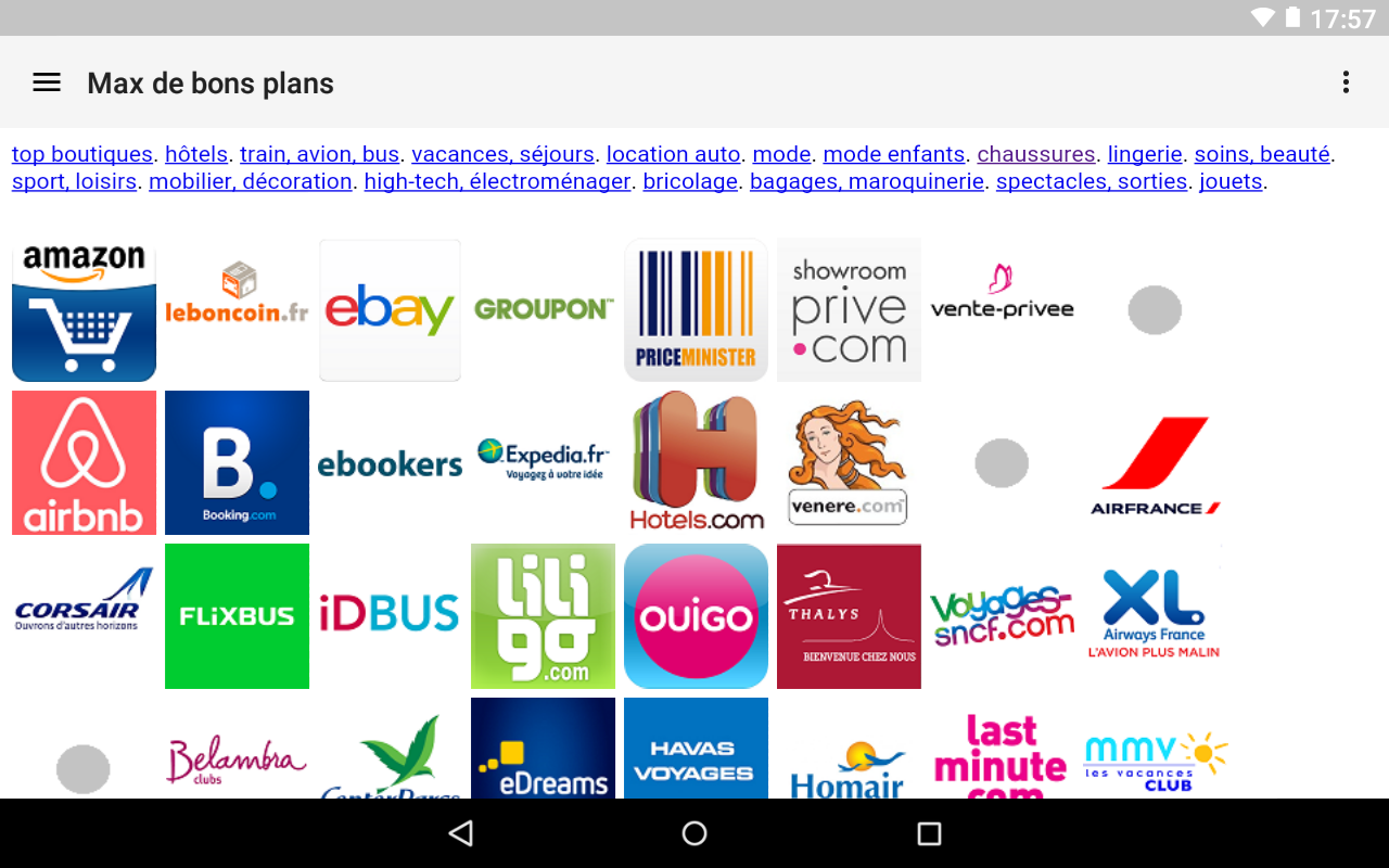 👍 Max de bons plans- screenshot