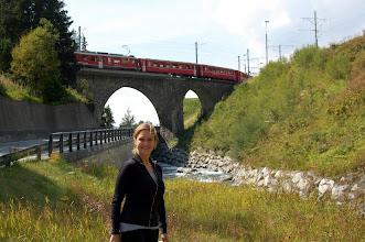 Photo: A Swiss train