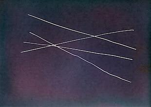Photo: Étude sur la vitesse de la lumière © Olivier Perrot Photogramme 2011 04 série A