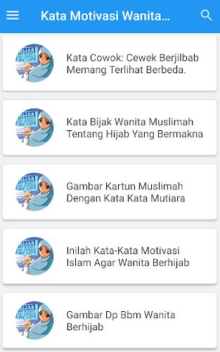 75 Koleksi Gambar Kartun Muslimah Dan Kata Motivasi HD Terbaru