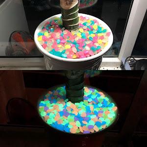 Pietricele fosforescente 600 grame