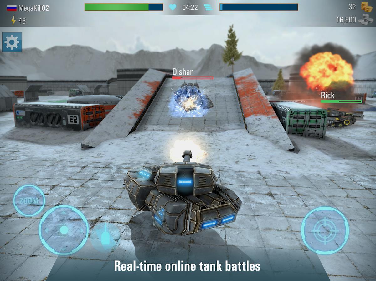 Online Tank Game
