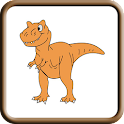 Dinosaur Coloring Book icon