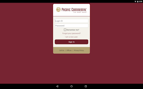 PCB Mobile Banking- screenshot thumbnail