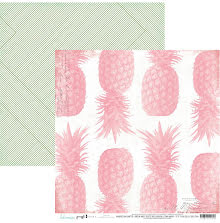 Heidi Swapp Pineapple Crush Cardstock 12X12 - Pineapple Crush UTGÅENDE