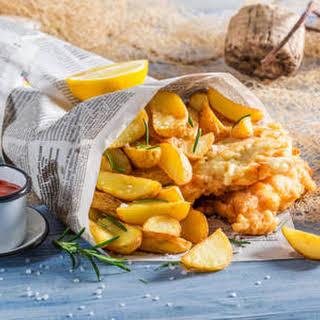 Fried Cod Fish.