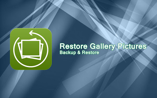Restore Gallery Pictures