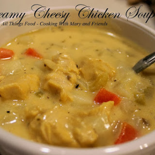 Creamy Cheesy Chicken Soup