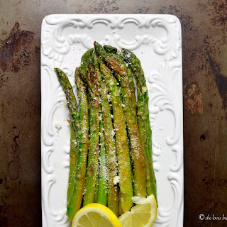 Sauteed Lemon Garlic Asparagus.