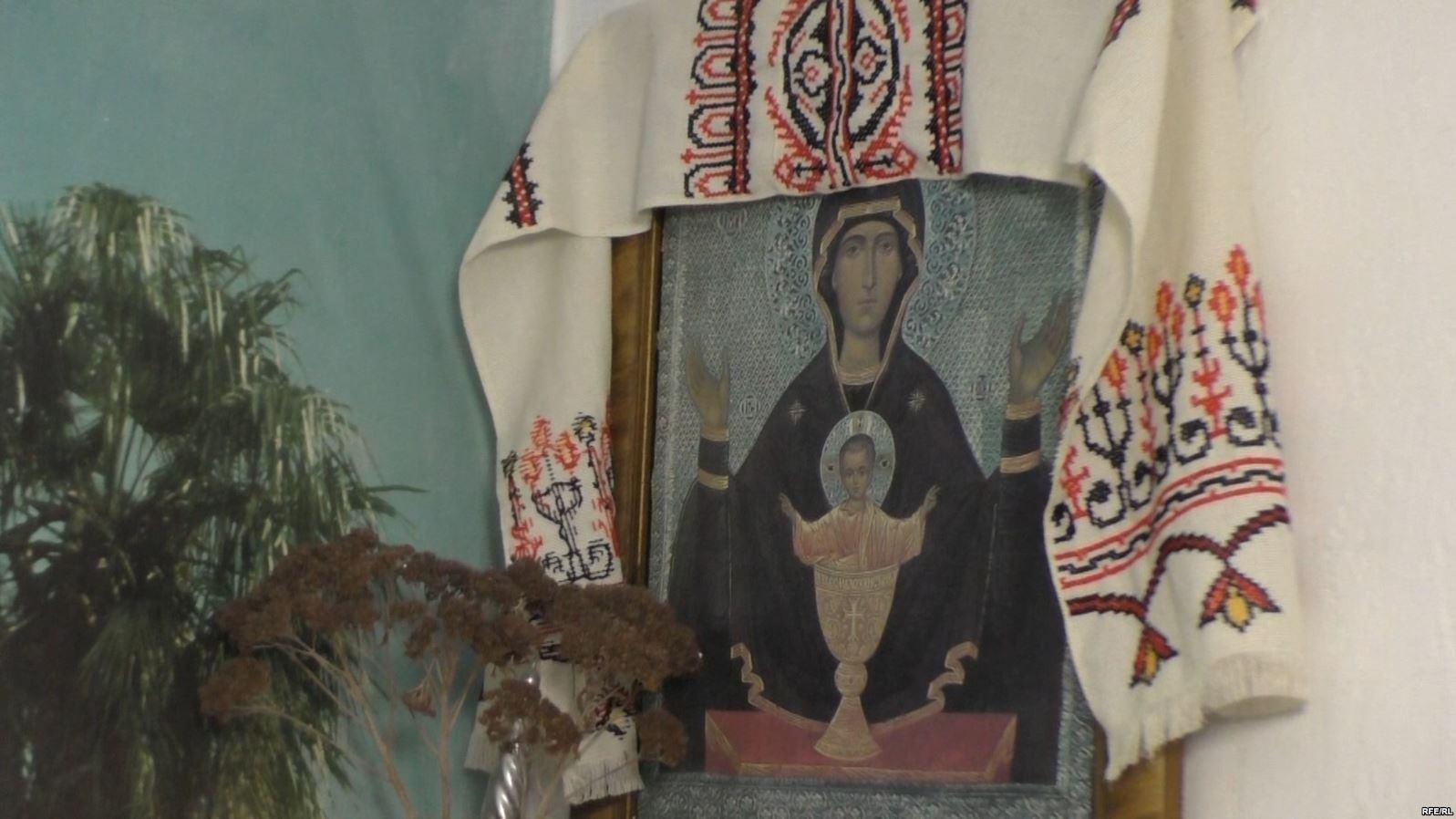 Икона в доме пани Теодозии