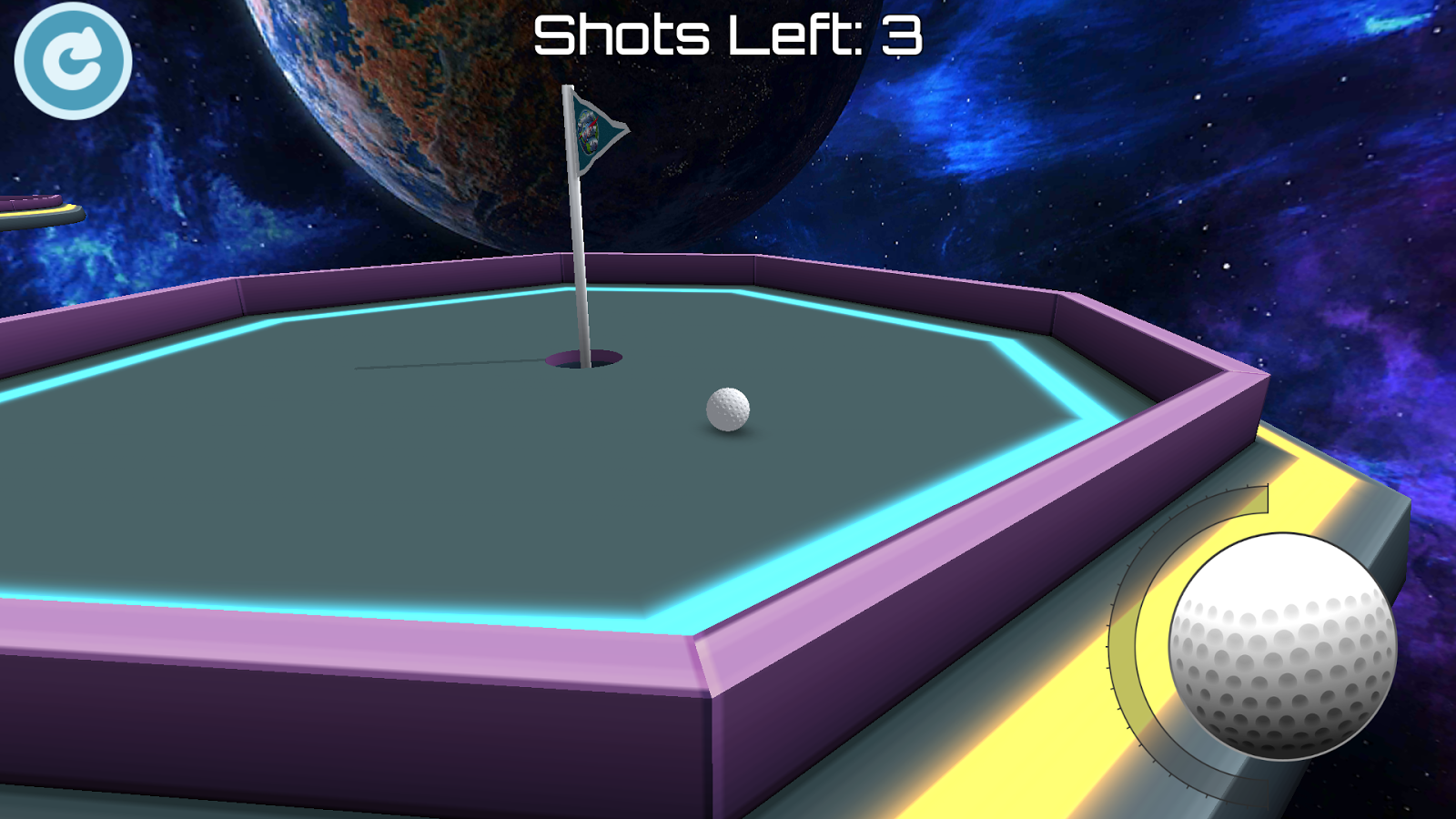 mini golf 3d space android apps on google play. Black Bedroom Furniture Sets. Home Design Ideas