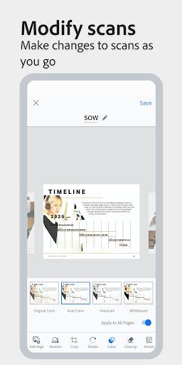 Adobe Scan: PDF Scanner with OCR, PDF Creator screenshot 5